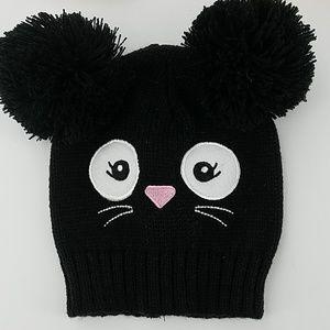 Other - NWT Knit Cat Pom